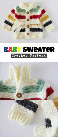 20a2cfd9aeeec Crochet Baby Sweater – Pretty Ideas We are want to say thanks if you like to