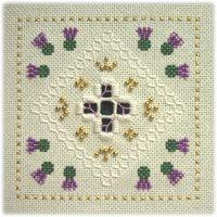 Floral Lace: Thistle