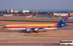 Air Jamaica 6Y-JMC Airbus A340-312 48 LHR London Heathrow 2000