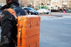 best leather luggage/backpack