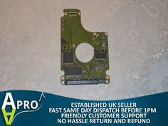 "WORKING - SEAGATE 1TB ST1000LM024 2.5"" PCB HDD ELECTRONIC BOARD - UK SELLER #SEAGATE"