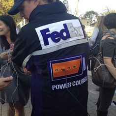 Pretty cool Marketing Idea by Fedex at #SXSW  Repinned by Spark Strategic Ideas www.sparksi.com