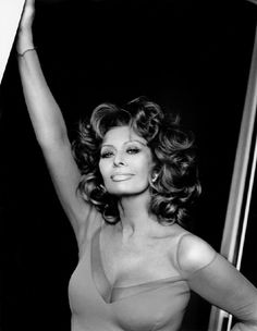 "Sophia Loren - she's not ""old Hollywood"" but she just exudes smokey sex appeal."