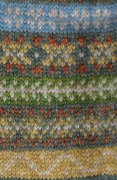 Fair Isle patterns