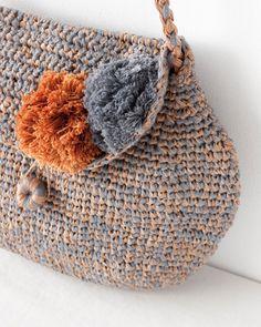NORO crochet purse