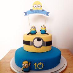 Per un compleanno speciale! Torta Minions