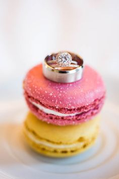 Macaroons and diamonds... yes please! Photo by Cory Ryan via june.bg/1vF9u25