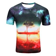d26060eb Colorful 3D Printed High Quality Tees #tree. Tee ShirtsT Shirt ...