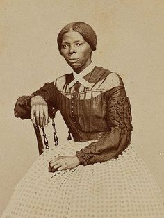 """Harriet Tubman was a former slave and the """"moses""""/ mother of the underground railroad saving hundreds of slaves after escaping slavery herself Wave Illustration, Look Vintage, African American History, American Women, Native American, Black History Month, Vintage Photographs, Framed Art Prints, Anime"""