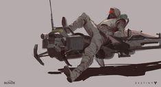 Destiny 2 Concept Art by Ryan DeMita   Concept Art World