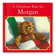 A Christmas Bear for Me #holidaygiftguide