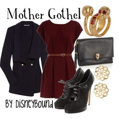 Mother Gothel @ Disney Bound