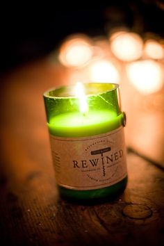 These REWIND candles are amazing and will always remind me of my honeymoon in South Carolina. Made in Charleston, using old wine bottles with scents like Pinot Noir, Chardonnay, Pinot Grigio, even Champagne.