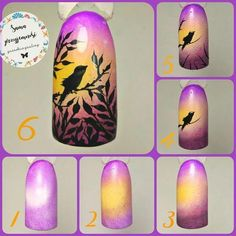 Discover new and inspirational nail art for your short nail designs. Learn with step by step instructions and recreate these designs in your very own home. Daisy Nail Art, Butterfly Nail Art, Flower Nail Art, Best Nail Art Designs, Short Nail Designs, Fruit Nail Art, Bright Nail Art, Airbrush Nails, Nail Techniques