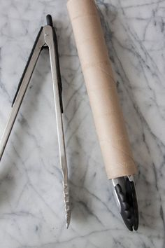 Here's a Smart & Simple Way to Store Tongs in Your Kitchen