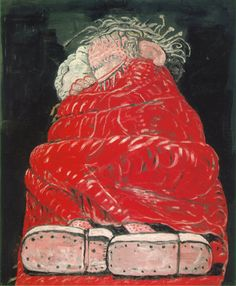 Philip GustonSleeping, 1977Oil on canvas 213.4 x 175.3 cm
