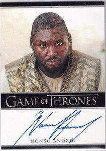 Precise Game Of Thrones Season 3 Conleth Hill As Lord Varys Autograph Batman Trading Cards