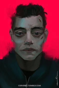 ArtStation - MR.ROBOT//sketch, Gerardo Vélez