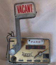 8 Best Vintage Taxi Meters images in 2012 | Taxi, Vintage
