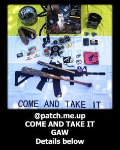 Our friend @patch.me.up is doing an amazing giveaway! This is a #Repost so be sure to follow @patch.me.up for all the details. . .  Its time for our COME & TAKE IT GAW - mixing things up this time we managed to bag a ton of swag from various Patch Me Up customers! In fact we landed so much that we are going to split this up to increase the odds and share the swag between 3 lucky winners!  These GAWs take a lot of time effort and expense from everyone involved please be respectful of the…