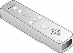 Wii Remote clip art