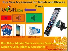 Buy mobile phones, memory cards, USB drives, screen protector & accessories at Ravsin.com.au.