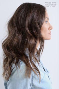 LOVELY + LONG Cut/Style: Anh Co Tran • IG: @Anh Co Tran • Appointment inquiries please call Ramirez|Tran Salon in Beverly Hills at 310.724.8167. #dreamhair #fantastichair #amazinghair #anhcotran #ramireztransalon #waves #besthair2015 #holidayhair #livedinhair #coolhaircuts #coolesthair #trendinghair #model #inspo #long #movement #favoritehair #haircuts2015 #besthair #ramireztran #womenshaircut #hairgoals #hairtransformation #brunette