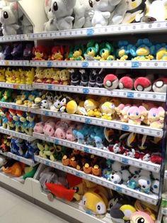 Pokemon Photos from Tokyo - Pansage Pansear Panpour Mienfoo Emolga Scraggy plush dolls
