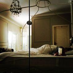 Bedroom lightening.