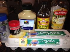Homemade Paleo Mayonnaise from Mom Gone Paleo. Great to use when making tuna, chicken or egg salad!
