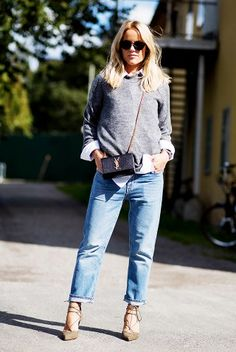 7 Times You Can Swap Your Heels for a Stylish Pair of Boots via @WhoWhatWear