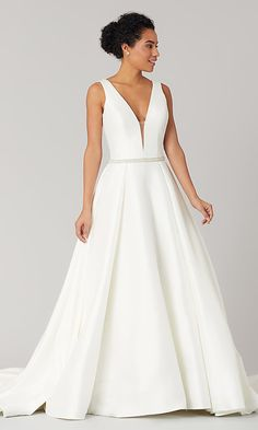 e2debc06ea7 Grace  Open-Back Wedding Dress with Pockets - Online Only