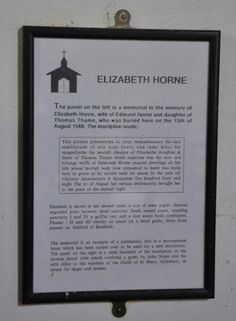 https://flic.kr/p/cJHbdY | Shipton-under-Wychwood-254 St Mary  St Mary Brass palimpsest depicting Elizabeth Horne http://www.bwthornton.co.uk/visiting-stratford-upon-avon.php