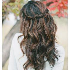Waterfall braid. Gorgeous