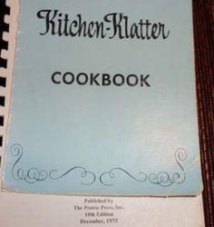 Notes about Kitchen Klatter Cookbook