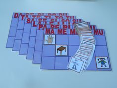Tablero de clasificación consonantes: MPLSTD