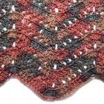 Filet Blocks Ripple Blanket - lots of free afghan patterns