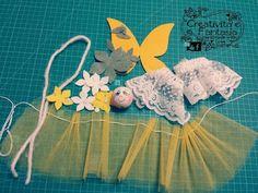 materials to make a flower fairy Dyi Crafts, Foam Crafts, Crafts For Kids, Felt Dolls, Paper Dolls, Making Wooden Toys, Bazaar Crafts, Clothespin Dolls, Flower Fairies
