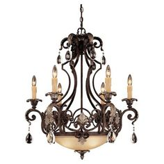 Bring eye-catching design to your foyer, living room, or master suite with this chic luminaire, masterfully crafted for artful sophistication and lasting sty...     DINING ROOM HAMPTON COURT - COLOR????