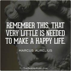 #life #quotes #happiness #marcusaurelius