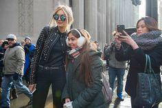 """""""Gigi Hadid was leaving Diesel and there were so many photographers there all trying to take her photo. And then the little girl came and asked for a picture and Gigi stopped to take a photograph with her, and it was just so nice of her — she has such a good heart."""""""