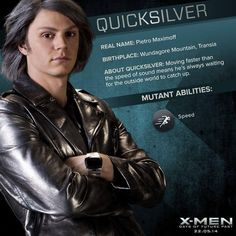 This version of Quicksilver was my favorite character in X-Men