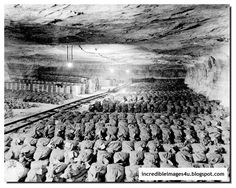 THIS IS WHERE THE GERMAN GOLD WAS HIDDEN. The Merkers Salt Mines.