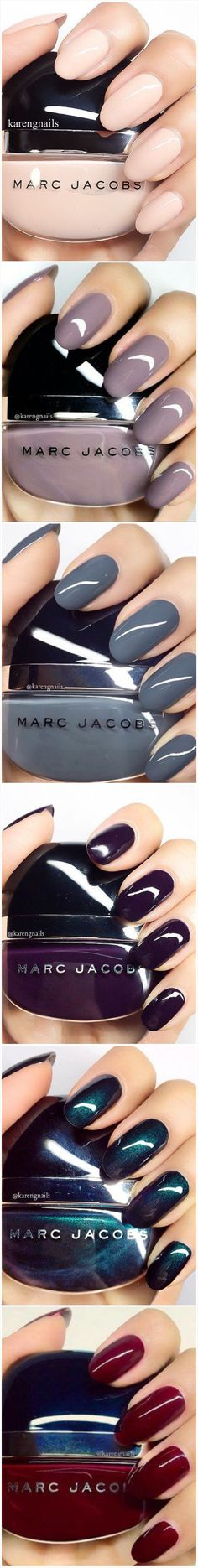 Marc Jacobs Nail Color Swatches