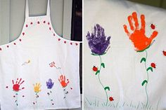 handprint art for kids | Handprint and Footprint Art : Handprint Crafts for Mother's Day ~ Part ...