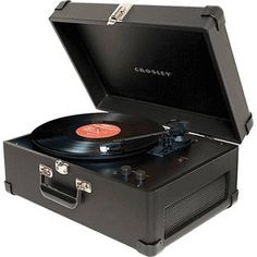 Crosley Radio CR249 Keepsake USB Turntable (Black Vinyl)