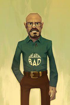 Walter White by MaxGrecke.deviantart.com on @DeviantArt