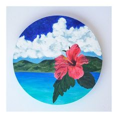 Circle Painting, Zen Painting, Texture Painting On Canvas, Painting Edges, Small Canvas Paintings, Scenery Paintings, Original Paintings, Canvas Art, Circle Canvas