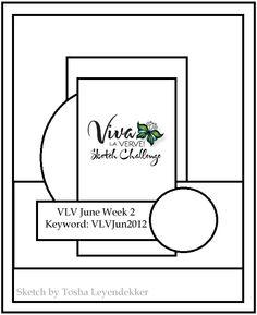 Viva la Verve! June Week 2 {6/8/12}: Verve Stamps - Splitcoaststampers