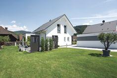 #weberhaus #Fertighaus #holzbauweise #garten #Satteldach #Pergola #terrasse